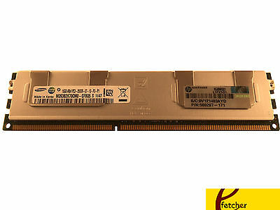 HP 16GB RDIMM DDR3 For HP Proliant DL360 G7 DL380 G7 DL385 G7 DL580 G7 DL585 G7