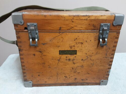 Vintage Western Electric  Test Set in dovetail box