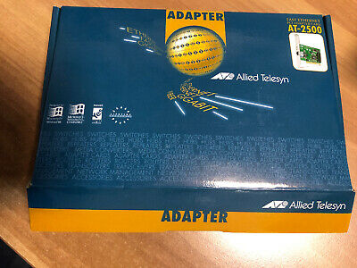 Allied Telesyn ATI AT-2500TXPCI Ethernet Adapter Card -in Originalverpackung, used for sale  Shipping to South Africa