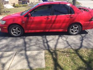 2003 Mitsubishi Lancer OZ manual