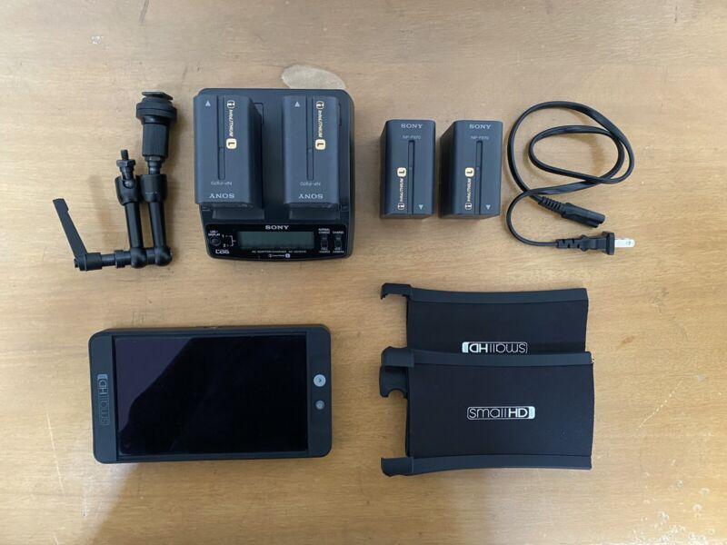 SmallHD 702 Black Monitor Kit