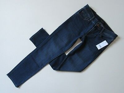 NWT J Brand Hipster Low Rise in Surrey Lane Stretch Straight Crop Jeans 26 $198 - Hipster Low Rise Jeans