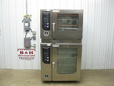 Henny Penny Gas Classic Combi Steamer Convection Oven W Stainless Steel Stand