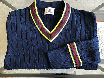 Kent & Curwen Navy Sweater Size Small