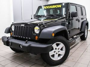 2008 Jeep Wrangler UNLIMITED X 4X4 *2 TOITS* EDITION SPECIALE *W