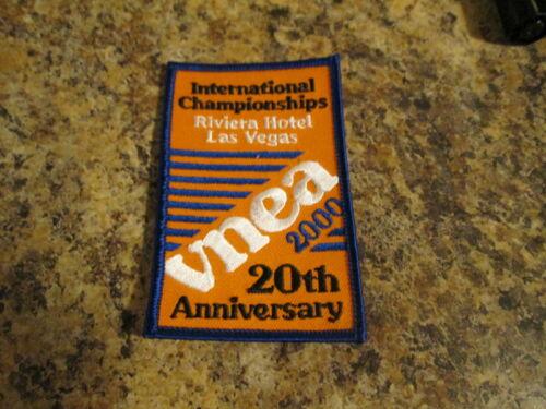 VNEA Valley National 8 Ball Pool League International Championship Patch 2000