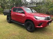 2016 Toyota Hilux SR 4x4 Dual Cab with Black Steel Tray Greenbank Logan Area Preview