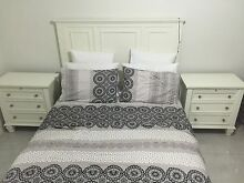 Glenmore queen bed frame and 2 X bedsides from Harvey Norman Middleton Grange Liverpool Area Preview