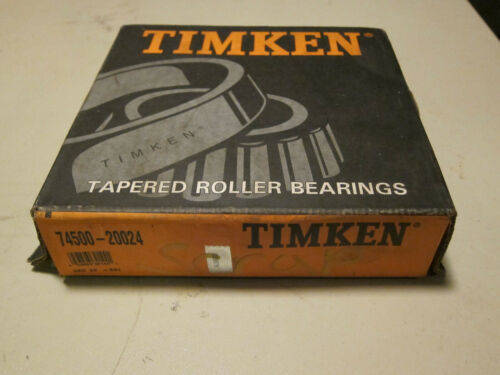 New Timken 74500-20024 Bearing NOS