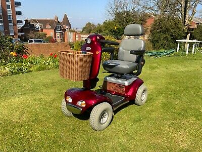 MOBILITY SCOOTER SHOPRIDER CADIS 8 MPH GOOD CONDITION FREE UK DELIVERY