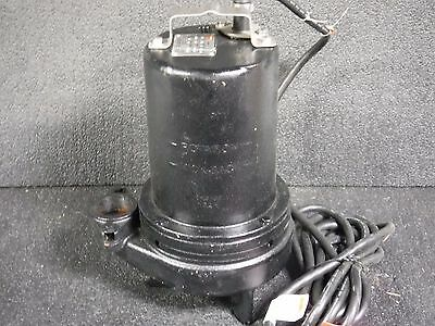 1-12 Hp 2 Manual Submersible Sewage Pump 460v 4hu87 Dr