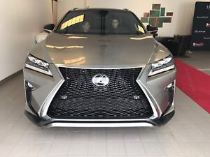 Lease Take Over - Loaded 2017 Lexus RX350 F-Sport Fully