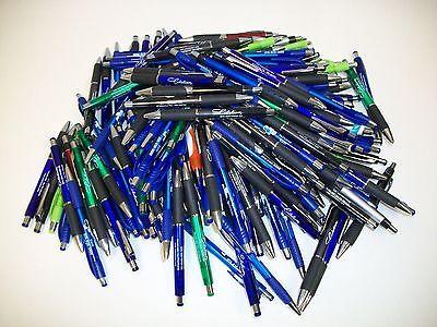 Lot Of 175 Pieces - Wholesale Misprint Plastic Retractable Pens