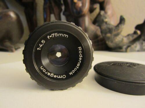 Omegaron 75mm 1:4.5 Enlarging lens