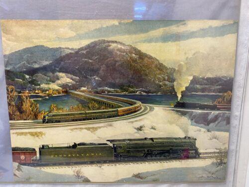"Original Vintage ""Crossroads of Commerce"" Print 1949 by Griff Teller"