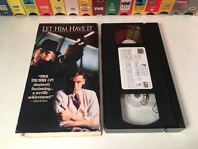 Let Him Have It British True Crime Drama VHS 1991 Peter Medak Tom Courtenay 90's
