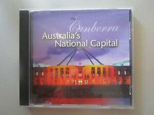 ***RARE*** Canberra Australia's National Capital CD Rom For PC Campbell North Canberra Preview