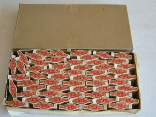 Antique Lot of 25,000+ Robert Bacon Cigar Bands Unused in Shipping Case ! RARE