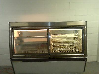 Master-bilt Cmff74 Merchandiser Self Serve Refrigerated Storage Lighted