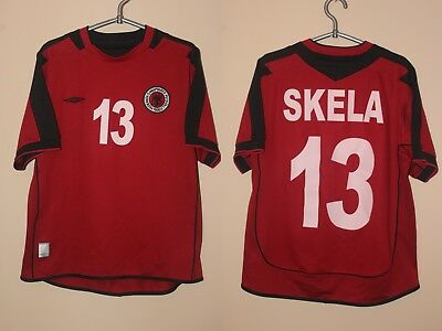 Albania Shqiptare Skela 2005 2006 2007 Umbro Player Issue Football Shirt Jersey image