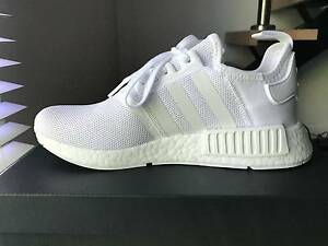 Adidas NMD_R1 Monochrome - Triple White 7.5US Melbourne CBD Melbourne City Preview