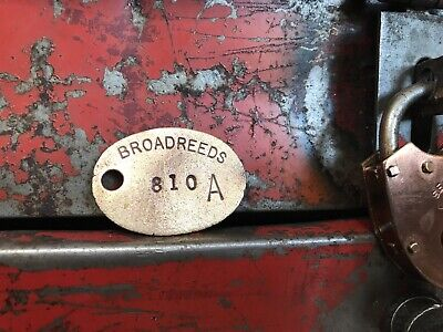 Brass Small Sign Reclaimed Steampunk Prop Industrial Making Lamps Lights Vintage
