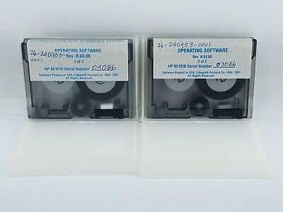 Agilent Hp Keysight 85101-60070 - 8510 Operating System Software. 2 Data Tapes