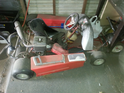 Go - kart with new sides