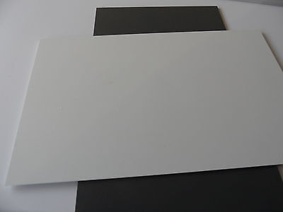 Polystyrolplatte 240mm x 440mm x 1mm weiss