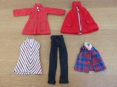 Vintage Dolls Clothes 1970's fit Mary Quant Daisy & Havoc sized dolls