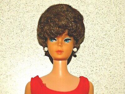 Barbie:  VINTAGE Brunette BUBBLECUT BARBIE Doll!