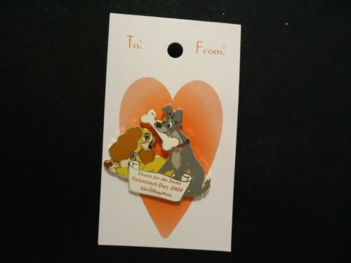 DISNEY WDW SWEETHEART COLLECTION LADY AND THE TRAMP VALENTINE