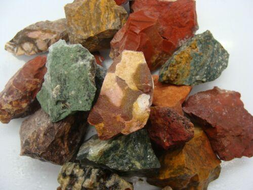MIXED JASPER - 2000 CARAT Lots - Gem Rough Stones