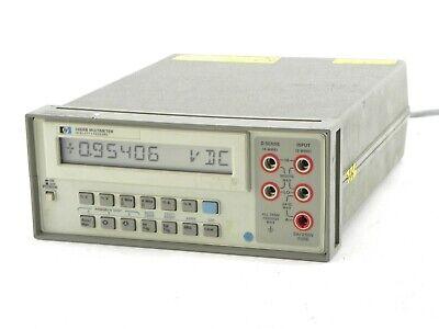 Agilent Hp Keysight 3468b Digital Multimeter Option 326 120v Ac 60hz