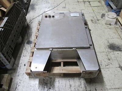 Hoffman Stainless Steel 4x Enclosure A-36hs3108sslp Size 36x31x8 W Pedestal