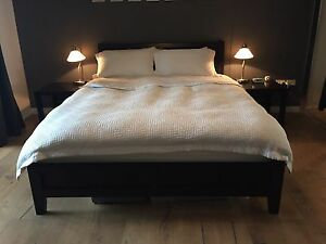 Freedom bed-frame & bedside tables Chatswood Willoughby Area Preview