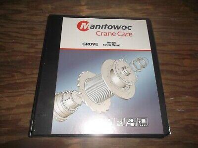 Manitowoc Rt650e Rough Terrain Crane Shop Service Repair Manual