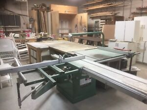 """General 10"""" tablesaw with crosscut sled"""
