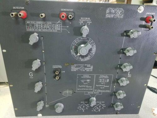 General Radio 1632A Inductance Bridge 1632-A