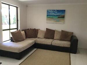 Large modular lounge West Lakes Shore Charles Sturt Area Preview