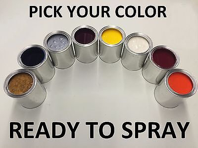 PICK YOUR COLOR - 1 PINT  CLEAR COAT + 1 PINT PAINT for FORD CAR / TRUCK / SUV