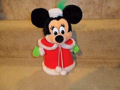 Handmade Disney Minnie Mouse Christmas Tree Topper Decoration plush