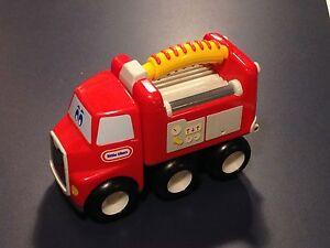 little tike camion de pompier