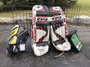 Goalie pads/Blocker/Catcher $50