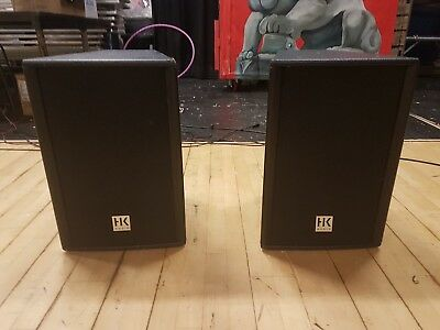 HK Audio Elias PX EPX 112A Powered Speakers x 2