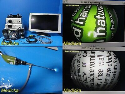 2015 Depuy Synthes Arthroscopy Sys W Stryker 30 Scope Fms Vueshaver 20872