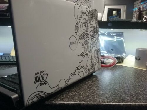 Laptop Windows - Dell Studio 1555 Limited edition laptop, Windows 10, New SSD drive small fault!