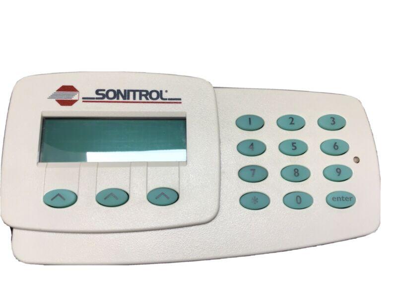 USED Sonitrol Signaling Device Keypad Issue No. BJ-5706. Part No 07143001 Rev B