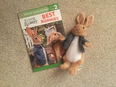 New Peter Rabbit Movie Book & Soft toy  - Best Bunnies - Penguin Young