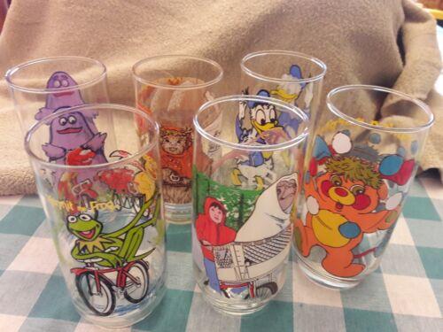 Vintage Character Glasses
